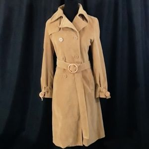 Guess Collecton  Tan Cotton  Trench  Coat